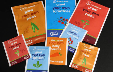 Innocent Drinks Bespoke Seed Packs